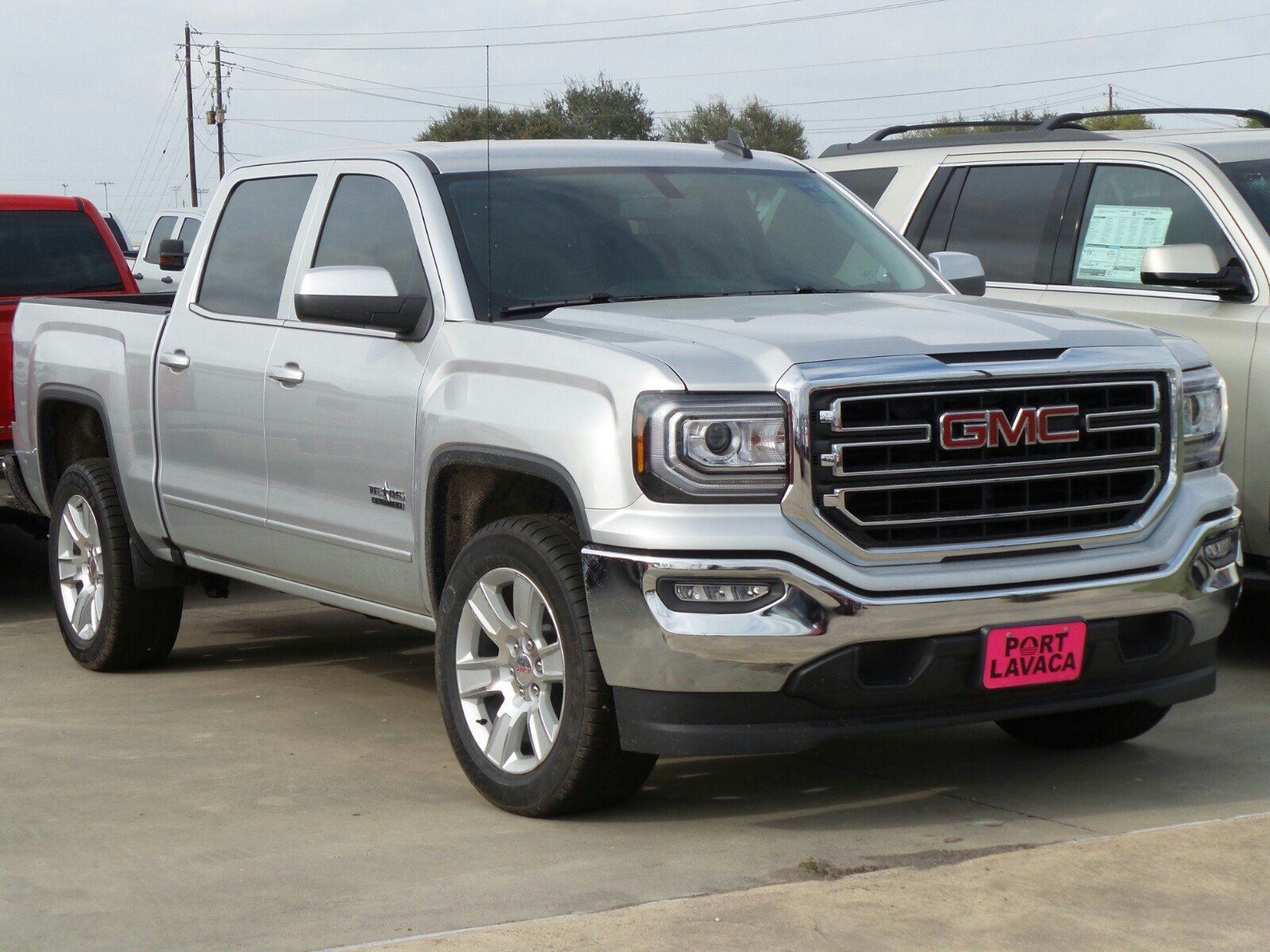 new 2017 gmc sierra 1500 sle crew cab pickup in port lavaca g325277 port lavaca auto group. Black Bedroom Furniture Sets. Home Design Ideas